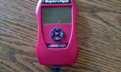 Brand new Superchips Flashpaq Tuner  only plugged in once for Dodge and Chrysler GAS vehicles $375 OBO