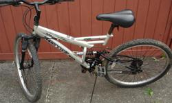 """super cycle 26"""" 18 speed full suspension in good working condition"""