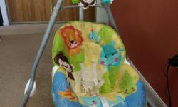 Fisher Price baby swing. Very lightly used. Asking $35.