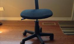 Swivel desk computer chair. Can be adjusted.