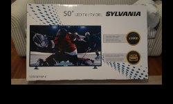 """Selling 50"""" Brand new TV still in the box. $525 obo....no low ballers please. 50-Inch LED HDTV Connections: HDMI x 3, VGA, YPbPR, AV Audio/Video, PC Audio, Headphone, Coaxial, RF Digital Capabilities: 480i, 480p, 576i, 576p, 720p, 1080i, 1080p Resolution:"""