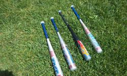 T-ball bats for sale. Only $15 each. We are located in Orleans. See our list of other items for sale. First come, first served.