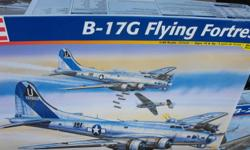 New models in !   Monster plane B-29 Superfortress $40 Huge B-17G Flying Fortress $30 B-25 JMitchell $25   ..New Jersey $55 ..Bismark $75 ..Missouri $55 ..King George $65 ..Enterprise $150 (yes it's the big monster)   Take everything for $375