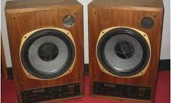 Hi, i got back into audio 7 months ago after a 30 year absence, and am putting together a nice sounding system. I really like the sound of the Tannoy speakers that i have heard, so am looking for a decent pair at a decent price. Please email, call or