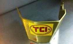 New. Never installed. TCI scatter shield for power glide transmission This ad was posted with the Kijiji Classifieds app.