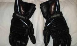 Teknic Motorcycle Gloves Women's Size Large Excellent condition Leather