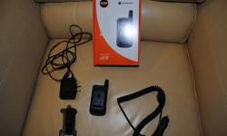 Telus Mike phone i576 in great condition. No contract - Includes home charger. car charger, belt clip, owners manual and original box. $75 OBO Call 613-577-2378