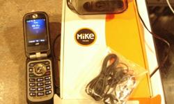 Selling i680 Mike phone for Telus. Used for 2 months. Switched over to PCS network. Great phone.