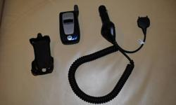 Telus Mike phone i760 in great condition. No contract - includes car charger and belt clip. 75$ OBO Call 613-577-2378