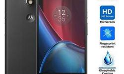 Tempered Glass Film Screen Protector For Motorola Moto G4 Plus -Standing out from the regular screen protector films. If broken, the protector breaks into small pieces that are not sharp, making it safer than other glass products. -Coated on the back with