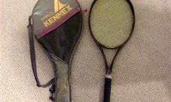 Kennex racket and full cover with new grip. Excellent condition. **** If listed its available