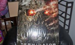 New terminator poster, framed
