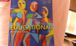 Hi everyone!! I am selling ... 1. Education Psychology, 5th edition by Woolfolk paid over $130 2. Psychological testing, 6th edition by Robert J Gregory paid over $175 3. Enviornmental Science 1&2 with Mary Sue Gamroth with computer code Paid over