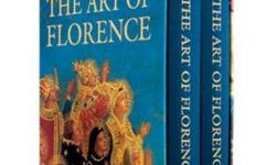 The Art of Florence By Glenn M. Andres, John M. Hunisak, and A. Richard Turner. Principal Photography by Takashi Okamura. Hardcover, 2 volumes, 1312 pages, Colour Illustrations. Hardcover sleeve. Non-smoking home. Best Offer. Product Dimensions: 38.1 x 31