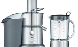 The combined power and funtionality of a blender and a juicer into one impressive machine. Introducing the new Juice & Blend? ? blended drinks with 100% fresh juice. Sharing a single motorized base with unparalleled performance, the juicer head processes