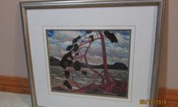 17 x 20 Framed print, The West Wind, Tom Thomson