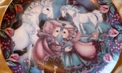 "Plate #1153 in ""The Guardians of The Kingdom"" Series by Jody Bergsma. I have 2 other plates in this series"