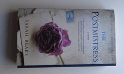 New York Times Bestseller - The Postmistress for sale. Wasn't a favourite of mine but there's a ton of reviews just raving about this book. Try it out, and maybe you'll disagree with me too :) Paid 18.50, would like 10.00 OBO. Read only once, its like