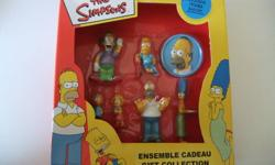 ALL MY ADS WILL BE TAKEN OFF AFTER 2 WEEKS FROM THE DAY THEY'VE BEEN ADDED   This gift collection has everything in original packaging! Even includes a Homer pin along with some figures from The Simpsons! All is in great condition!   *TO SEE MORE* On the