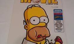 A copy of the Simpsons Movie, still in shrink wrap.