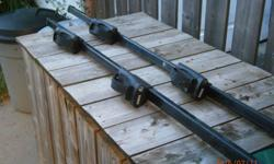 "Model 45050. 50"" load bars. For most vehicles with existing factory rails. Lockable."