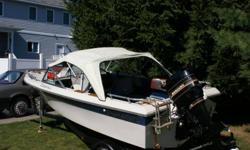 Capri Thundercraft bowrider 16ft boat, with 75 hp Mercury motor and trailer. Fish finder, rod rack and Big Jon downriger included. Boat and trailer in very good shape, motor is like brand new.  $3200 or best offer.