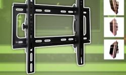 """Tilt Wall Mount - 26"""" - 52"""" TV's Veas Pattern: 100x100 up to 400x400 Tilt: -15 Degrees to +15 Degrees Max Load: 50KG/110Lbs Mounting Style: Single or Dual Stud HST is Always Included in Our Prices. Free Local Delivery on Orders $40 or More. Browse Our"""