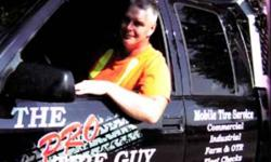 TIRE REPAIR SERVICE  PETERBOROUGH - LINDSAY  TIRES THE PRO TIRE GUY INC. : 705-933-4020 (CELL) COMMERCIAL TIRES - INDUSTRIAL TIRES - FARM & OTR TIRES EMERGENCY TIRE REPAIRS AND REGULAR MOBILE SERVICE   Mitch Burgomaster, Professional Tire Technician,