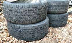 Selling two 245/50/16 tires. Tires good tread, one is bridgestone potenza other is bfgoodrich radial t/a.