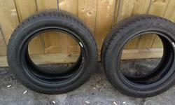 Size 195/60R15 2 All Season tires. Brand name is Goodyear Eagle GT. Asking $70 or best offer.