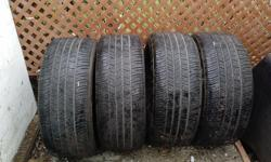 Size 235/50R18 4 All Season Tires. Brand name is GOODYEAR EAGLE RS.A. Asking $170 or best offer.