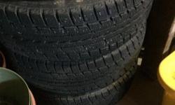 Dunlop Graspic DS-2 175/65 R14 on Toyota rims asking 150.00 OBO