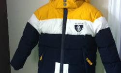 Brand new snow suite, size 4 from Tommy Hilfiger, paid over $120! Will take $55 firm! This ad was posted with the Kijiji Classifieds app.