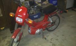 Need it gone don't have the space for it. Its a Great bike starts first kick everytime.