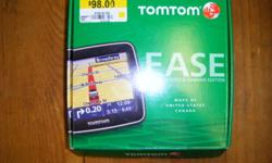 i have a tomtom ease gps for sale. still in the box. only used about 3 times. awesome little unit works great. only reason i am selling is because i bought a new car that has a GPS built in. email for more info. thanks. only asking $80! great for xmas