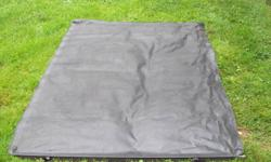 For sale a soft roll up toneau cover off a late model S-10 short box. Was on a 2003. It is the good type that has the aluminum frame that clamps to the bed rail with non marking clamps and then has the snaps on the aluminum rail that attaches the cover