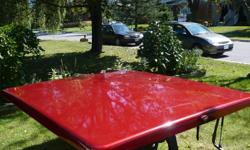 Low Rider Tonneau Cover, Red, Hard Top, will fit a 6' box, in excellent condition $400.00,contact mailto:lori@cogeco.ca