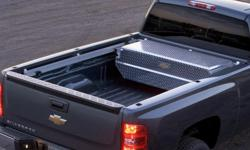 Tool box with cargo management system fits 2007-20013 Chev pickup asking $400.00 for box and rail system.