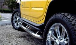Here is an opportunity for you to enjoy our high quality stainless steel products at a extremely low price! Authorized dealer of a very reconized brand for high quality standard truck accessories through out North America. 304 Stainless steel 3' side
