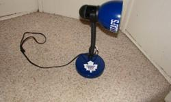 toronto Hockey lamp great for the working desk asking $15 for it