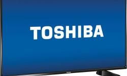 """For Sale: *** If ad is up product is still available *** Toshiba 43"""" 60Hz 1080p LED TV, model 43L310U, black coloured frame. - 43-inch IPS display with D-LED backlight technology that delivers images in Full HD 1080p - 1000:1 contrast ratio offers"""