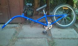 As is tow bike. There's a bit of rust and the tire needs air but it is only $20!