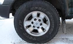 Set of 4 Toyo 31x10.50R15 tires for sale. Off my tacoma pickup truck. Still in excellent shape! About 70%  tread still left on them. Only reason for selling is upgrading to yokohama geolander wheels. Asking $450 obo  for all. Brand new, $240 a piece.