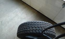 """P205/70R15.  12/32"""" left on tires.  Only used one winter.  Bought new vehicle, tires have to go."""