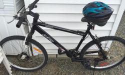 "CCM 20"" trail bike, 4 years old. Woman owned."