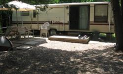 General Coach Citation Supreme 36 foot with full length awning, dual tip-outs - eat in kitchen and full size bedroom with mirrored walkin closet. Queen size pulled sofa with newer mattress. Full four piece bath. Nice sized kitchen with cedar closet and