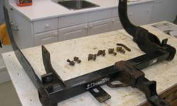 Draw-Tite trailer hitch rated at 10,000 lb.  Needs ball.  Removed from my 2007 F150 - not sure if it fits other trucks.  I had to replace it because I need to change ball sized periodically & I could not remove the reciever from the frame.  If you don't
