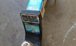 """Length 9.5"""", Drop 3 1/4"""", Rise 2"""", 1"""" Mounting Haul, 5000lb capacity, fits 2"""" by 2"""" hitch."""