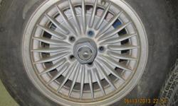 """Make Pontiac Model Firebird Trans Am Colour silver kms 100 For sale, a set of four original factory """"Turbine"""" style wheels, 15 inch. Originally used on the new 1982 & 1983 + model years of Trans-Am and Firebird. (see attached photo of 1983 original car)"""
