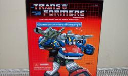 Calling all collectors and enthusiasts! Selling a Transformers 1st generation commemorative autobot smokescreen. Brand new in box! Price is firm. $40